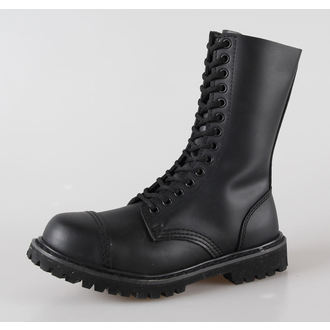 boty kožené 14dírkové BRANDIT - Phantom Black, BRANDIT