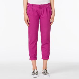 kalhoty dámské VANS - G Pleated Chino - Boysenberry