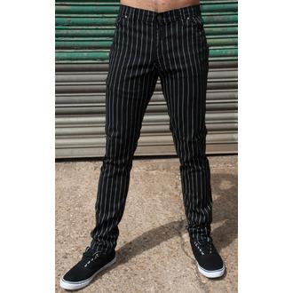 kalhoty pánské 3RDAND56th - Pinstripe - Blk/Wht, 3RDAND56th