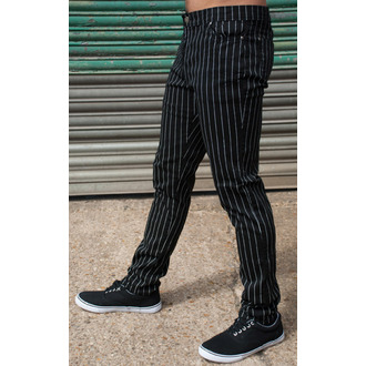 kalhoty pánské 3RDAND56th - Pinstripe - Blk/Wht