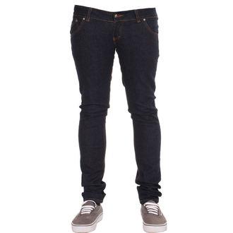 kalhoty dámské 3RDAND56th - Super Skinny Hipster - Indigo - JM391