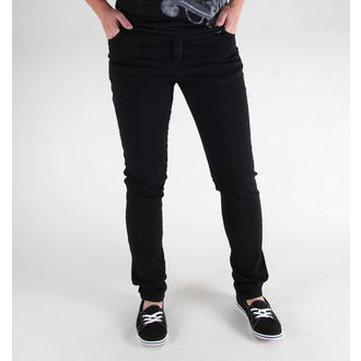 kalhoty (unisex) 3RDAND56th - Hipster Slim Fit - Black