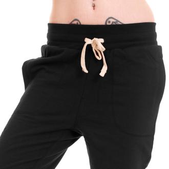 kalhoty unisex (tepláky) 3RDAND56th - Carrot Fit Jogger - Black