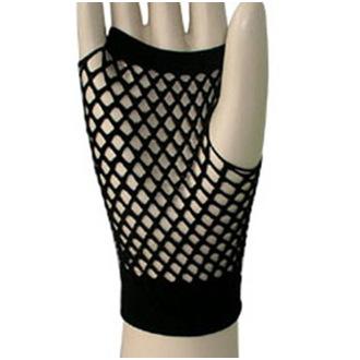 rukavice (narukávník) LEGWEAR - Short Fishnet - Black, LEGWEAR