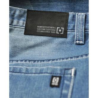 kalhoty pánské -jeansy- HORSEFEATHERS - Ground Light Blue
