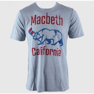 tričko pánské MACBETH - El Oso - Dusty Blue