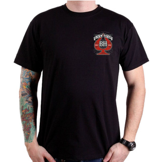 tričko pánské BLACK HEART - MISS PIN UP - BLACK, BLACK HEART