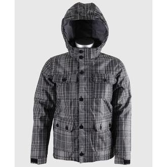 bunda dětská zimní VANS - Mixter II Boys - Black/New Charcoal Plaid, VANS