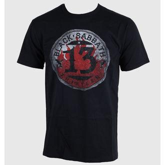 tričko pánské Black Sabbath - 13 Flame Circle - Black - BRAVADO EU - BSTS07MB