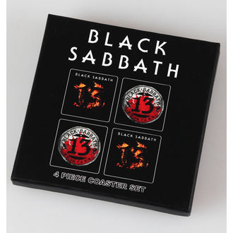 pivní tácky Black Sabbath - 13 - ROCK OFF, ROCK OFF, Black Sabbath