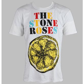 tričko pánské Stone Roses - Logo Lemon Multicolour - ROCK OFF, ROCK OFF, Stone Roses