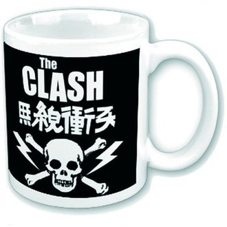 hrnek The Clash - Skull & Crossbones - ROCK OFF, ROCK OFF, Clash