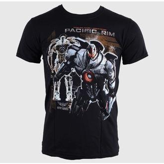 tričko pánské Pacific Rim - Robot - Black - LIVE NATION - 10529
