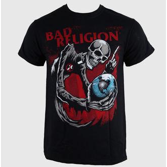 tričko pánské Bad Religion - Skull - Black - LIVE NATION - 10506