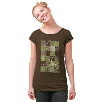 tričko dámské FUNSTORM - Bela - 04 BROWN