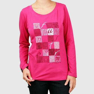 tričko dámské s dlouhým rukávem FUNSTORM - Lyn - 25 PINK