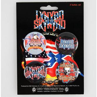 placky Lynyrd Skynyrd - CDV, C&D VISIONARY, Lynyrd Skynyrd