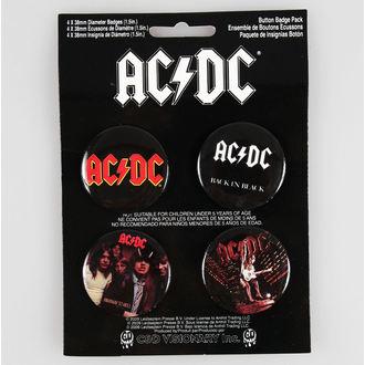 placky AC/DC - CDV, C&D VISIONARY, AC-DC