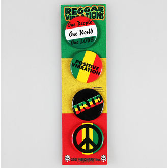 placky DSX Reggae&Rasta - Assorted - B-5576