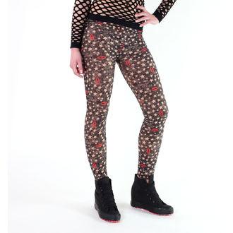 kalhoty dámské (leginy) LIQUOR BRAND - Killer Star