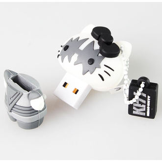 flash disc USB 8GB (přívěšek) KISS - HELLO KITTY - The Spaceman, HELLO KITTY, Kiss
