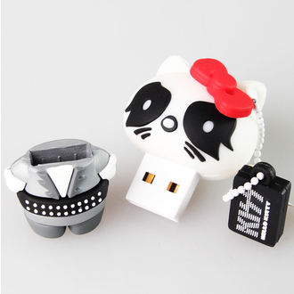 flash disc USB 8GB (přívěšek) KISS - HELLO KITTY - The Catman