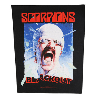 nášivka velká Scorpions - Blackout - RAZAMATAZ, RAZAMATAZ, Scorpions