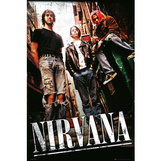plakát Nirvana - Alley - GB posters - LP1660