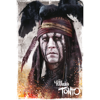 plakát Lone Ranger - Tonto