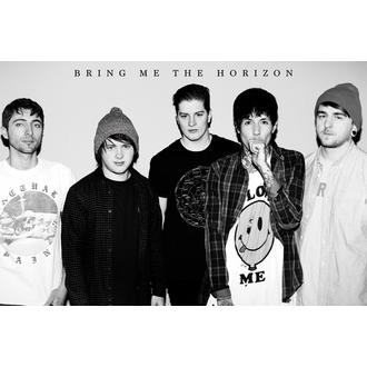 plakát Bring Me The Horizon - Black&W, GB posters, Bring Me The Horizon