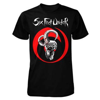 tričko pánské Six Feet Under - Goatskull - ART WORX, ART WORX, Six Feet Under
