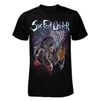 tričko pánské Six Feet Under - Scales of Death - ART WORX, ART WORX, Six Feet Under