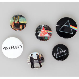 placky Pink Floyd - Album And Logos - GB posters - BP0457