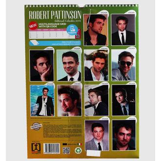 kalendář na rok 2014 Robert Pattinson, NNM