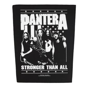 nášivka velká Pantera - Stronger Than All - RAZAMATAZ, RAZAMATAZ, Pantera
