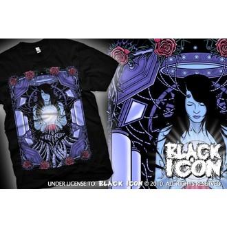 tričko pánské BLACK ICON - Maiden - Black - MICON048