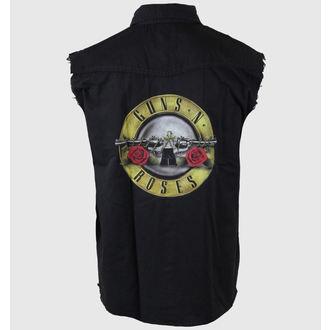 košile pánská bez rukávů (vesta) Guns N' Roses - Bullet Logo - RAZAMATAZ, RAZAMATAZ, Guns N' Roses