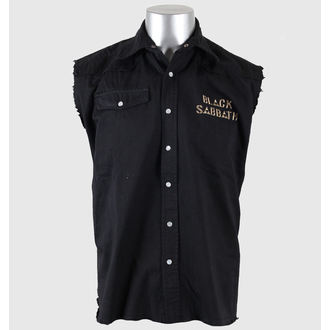 košile pánská bez rukávů (vesta) Black Sabbath - US Tour 78 - RAZAMATAZ - WS063