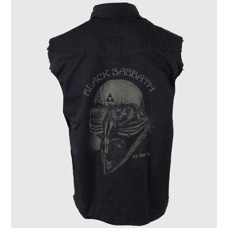 košile pánská bez rukávů (vesta) Black Sabbath - US Tour 78 - RAZAMATAZ, RAZAMATAZ, Black Sabbath