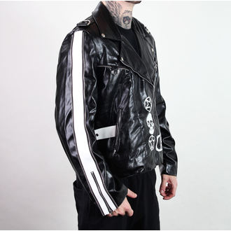 bunda pánská (křivák) ADERLASS - Rock Jacket Lacrimas Profundere - Black, ADERLASS
