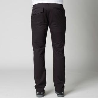 kalhoty pánské FOX - Selecter Chino - Black, FOX