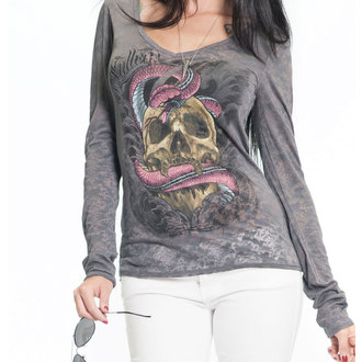 tričko dámské s dlouhým rukávem SULLEN - SA Serpent Burnout