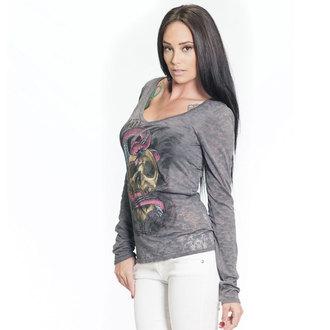 tričko dámské s dlouhým rukávem SULLEN - SA Serpent Burnout, SULLEN