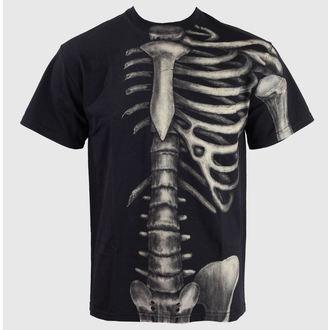 tričko pánské ALISTAR - Skeleton - Half - ALI014