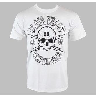 tričko pánské BLACK HEART - Skull - White