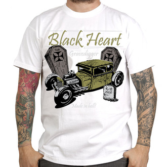 tričko pánské BLACK HEART - Gravedigger, BLACK HEART
