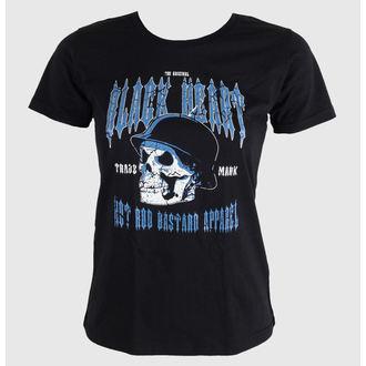 tričko dámské BLACK HEART - Vintage Skull