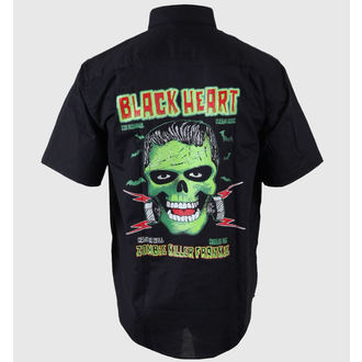 košile pánská BLACK HEART - Frankie, BLACK HEART
