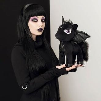 plyšová hračka KILLSTAR - Myth - BLACK - KSRA001448