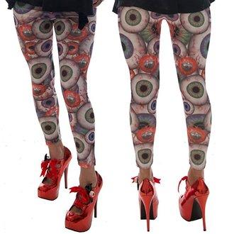 kalhoty dámské (leginy) KREEPSVILLE SIX SIX SIX - Eyesore, KREEPSVILLE SIX SIX SIX